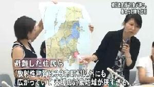 NHKニュース 母親たちの抗議