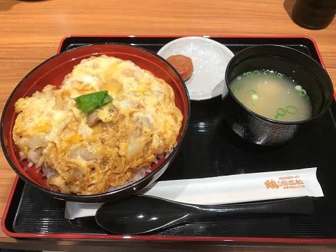 鶏三和仙台三越の名古屋コーチン親子丼1,058円♪