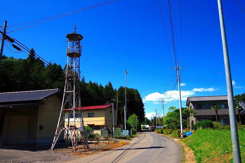 那須烏山市 小白井の火の見櫓 28.6.2 - 栃木の木々