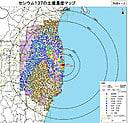 放射性セシウムの土壌濃度マップ_20110830