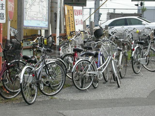 駅前広場の放置自転車対策を9月...