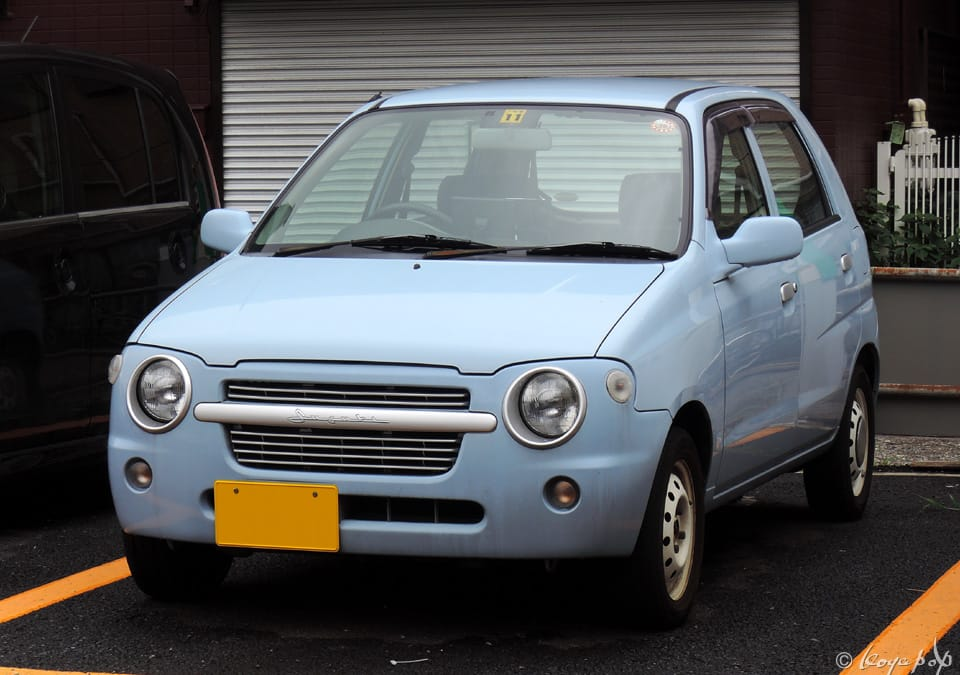 Suzuki Alto C2 2001 シンプルにまとめられたスズキ アルト C2 Beautiful
