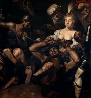 ユディト 首 斬る ホロフェルネス を の