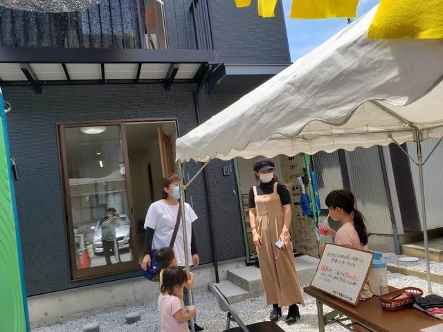 見学会の様子です | 高知市で月々三万円で新築一戸建てを建てるならサンブランドハウス