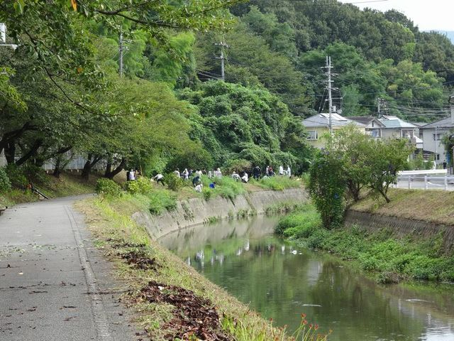 平成最後の夏の終わりに・川附川...
