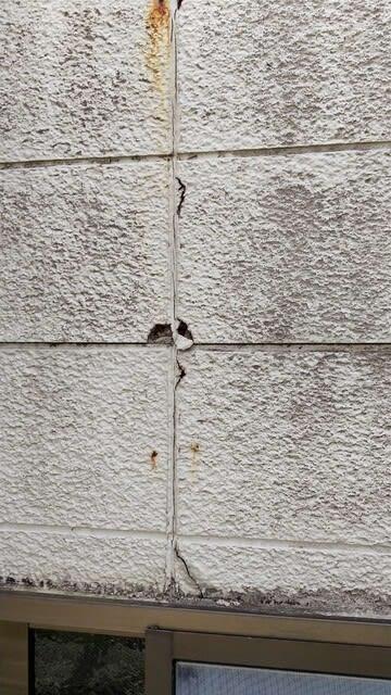 外壁劣化の写真