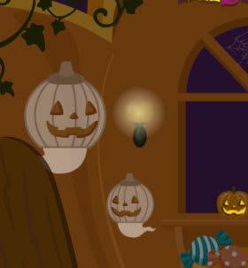 かぼちゃスタイルのお化けさん