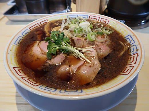 サバ6製麺所 本店・サバ醤油そば