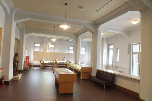 旧太田市役所の1階