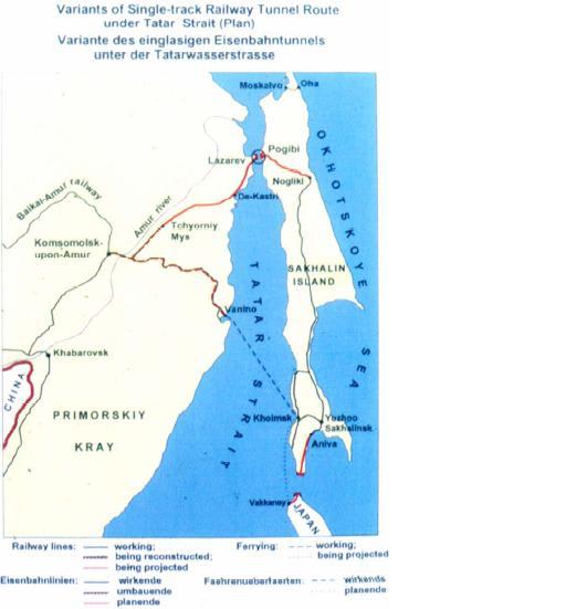 モンゴルの鉄道計画とサハリン日...