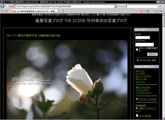 風景写真ブログTHE SCENE