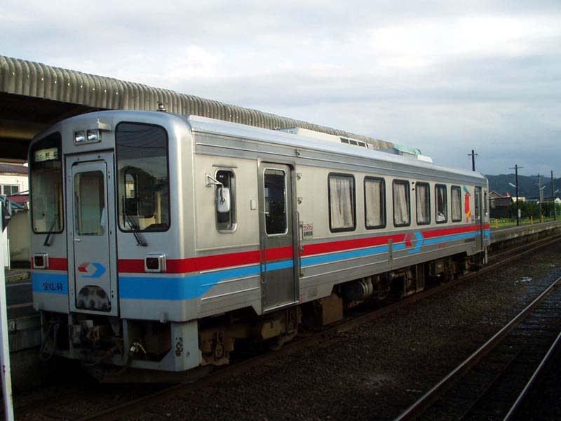 若桜鉄道WT3300形~1両のみ存在...