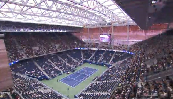 全米オープンテニス放送