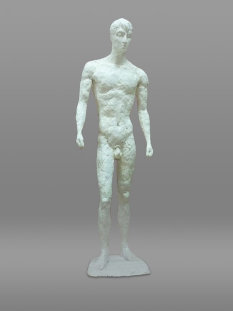 現代彫刻家】「立つ人」【大河原隆則】 - <彫刻家>大河原隆則の ...