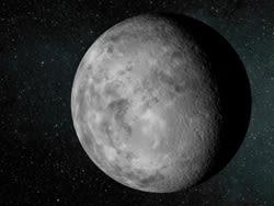 """最小の惑星""""ケプラー37b""""(イメージ図)"""