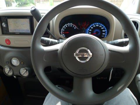 運転席からハンドル周り