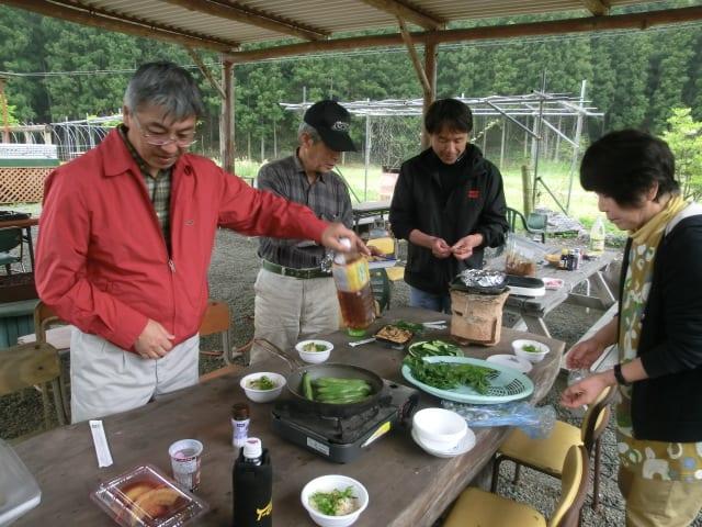 タケノコ炊き込みご飯
