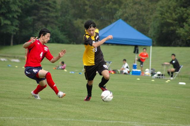北海道サッカーリーグ第11節 VS ...