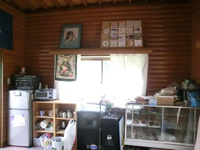 冷蔵庫とショウケース