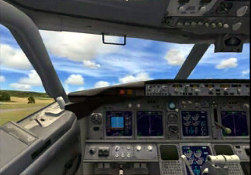 FSX]RJOB-RJTT flight video - flight2005