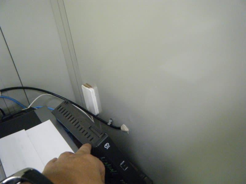屋外LAN配線