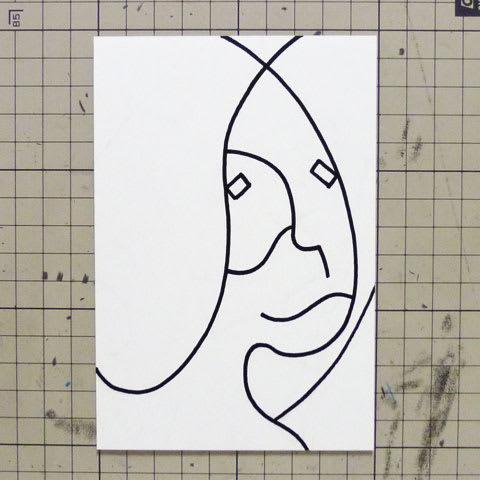 大久保佳代子似顔絵イラスト画像