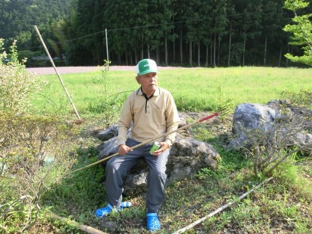 蛇採り名人川田さん