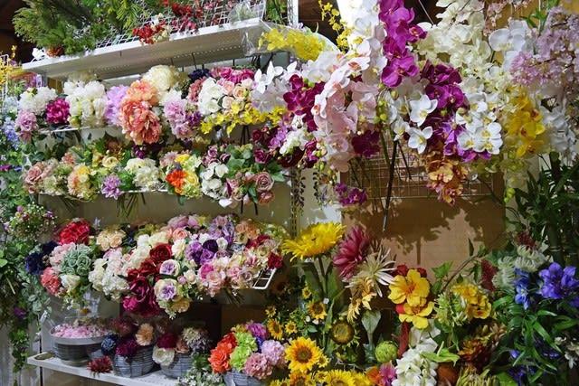 造花ココーフラワー横浜 ショールームの造花 店舗画像