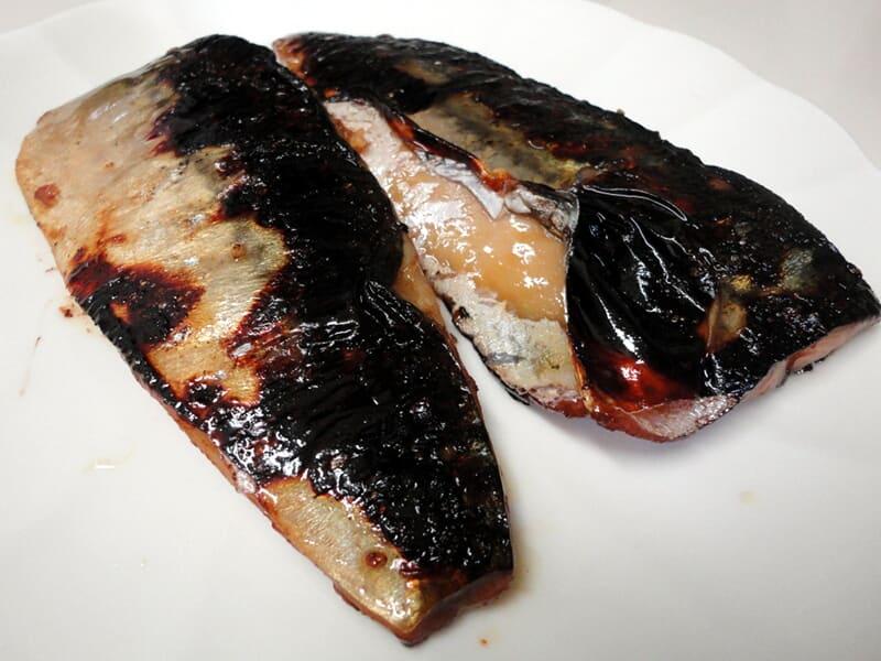 11月23日 鯖の味醂干し
