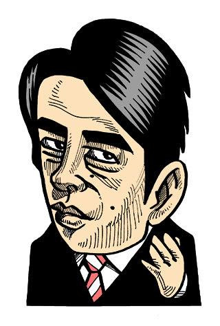 小泉進次郎の似顔絵