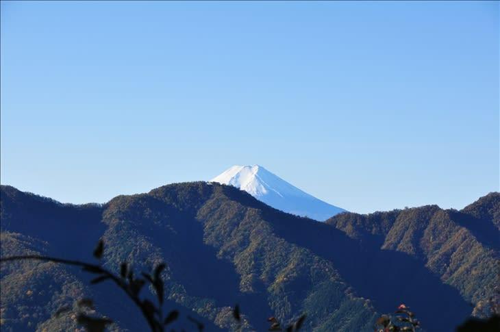 奈良倉山からの富士山~大月市① - 気まぐれフォトダイアリー