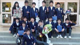 祇園中学校の卒業式(3/12) - ...