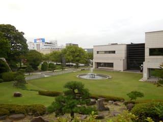 公園の噴水