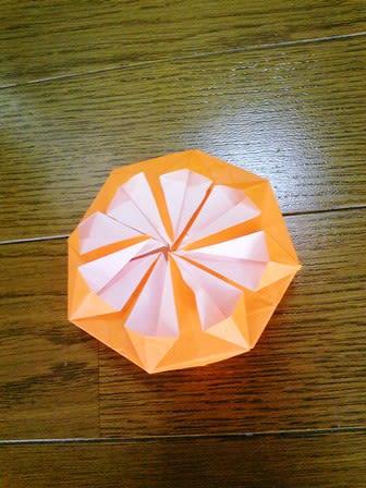 クリスマス 折り紙 折り紙 菊の花 : divulgando.net