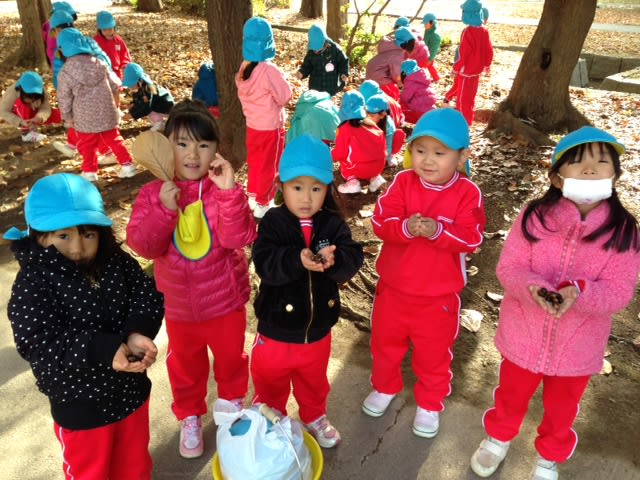 年中児園外保育