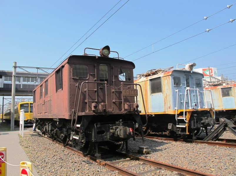 国鉄ED14形電気機関車 近江鉄道 - 観光列車から! 日々利用の乗り物まで