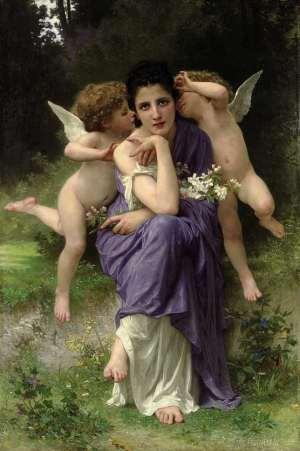 ブグロー( William Adolphe Bouguereau ) 【わたしの里】