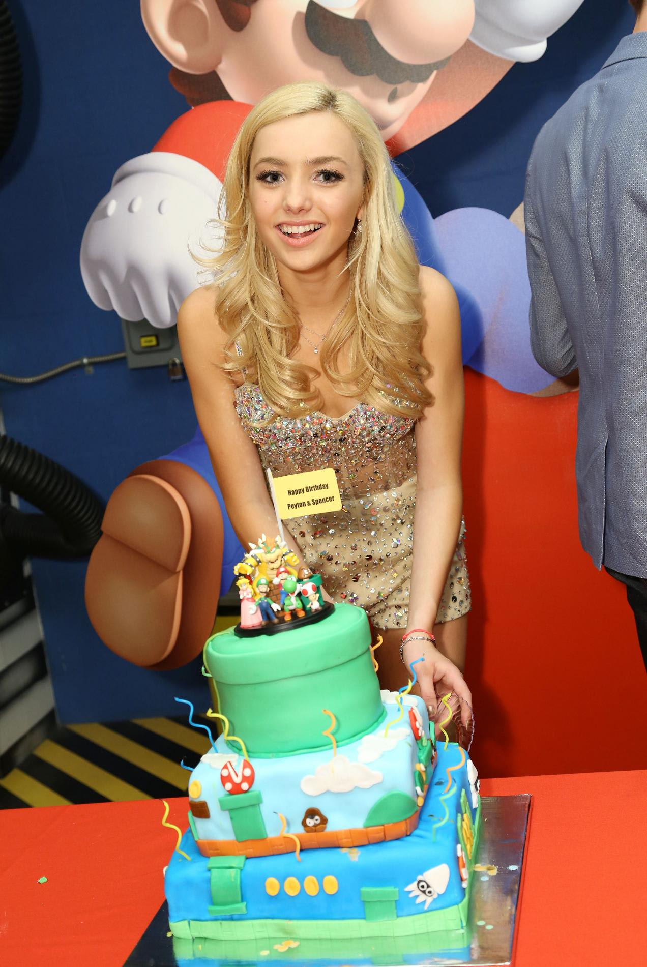 Peyton List Sweet 16 Birthday Party In Los Angeles