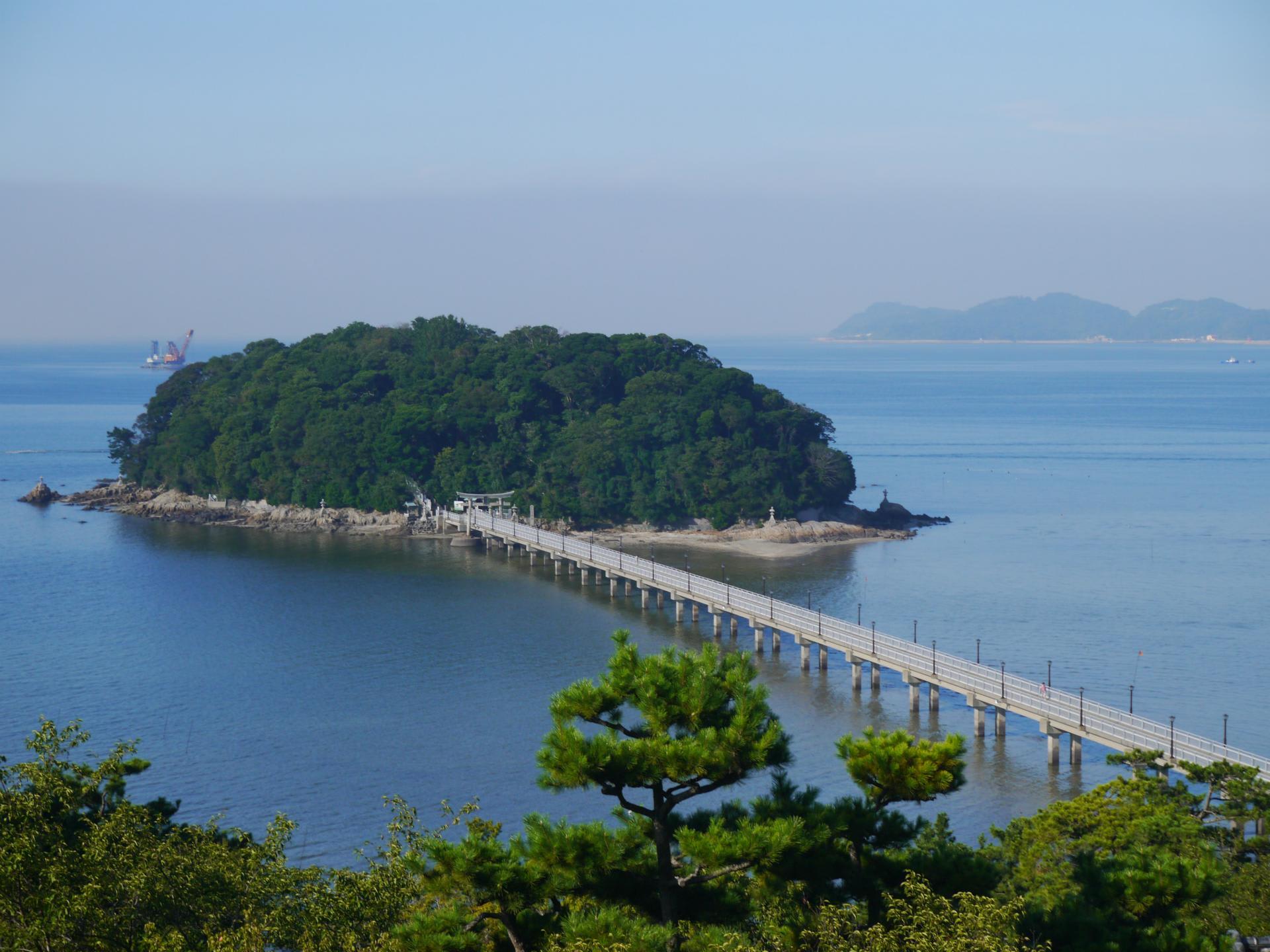 竹島(愛知県蒲郡市) - hokutoのきまぐれ散歩