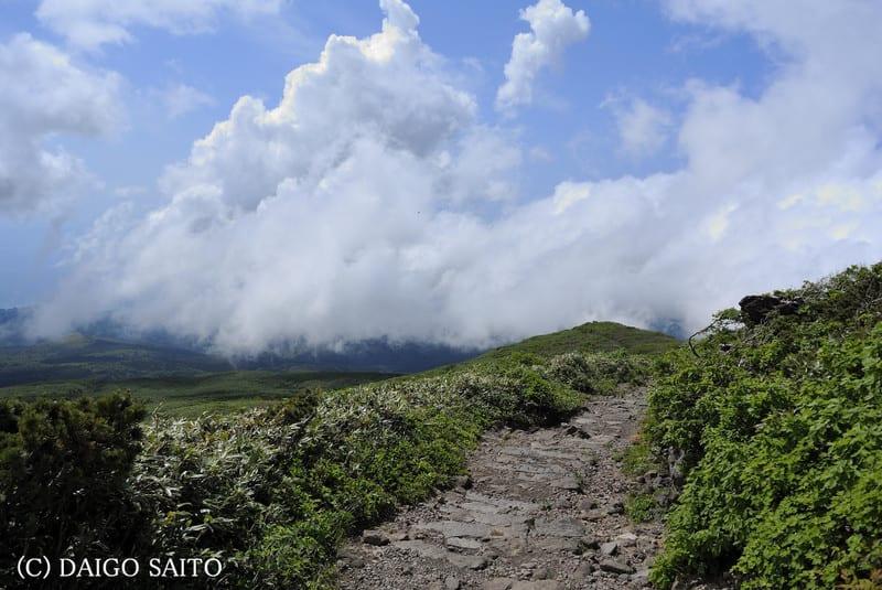 鳥海登山2014 photo1