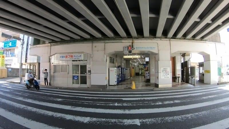 4K】東西線 原木中山駅を歩いて...