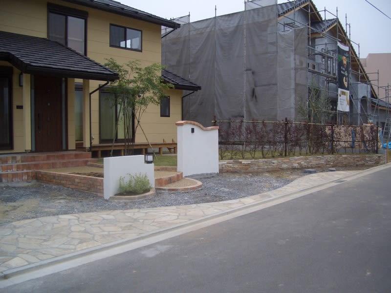 直方市N邸新築外構工事 その2 現場写真5