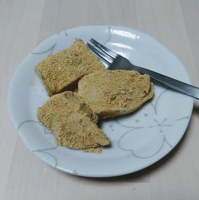 スイーツ わらび餅を作ろう ラクガキキャビン