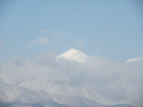 常念岳 2012/1/24