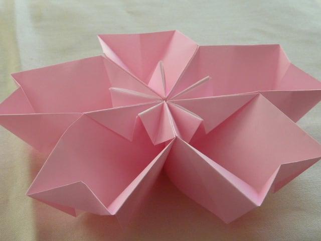 桜器 : 雛人形の折り紙・切り絵 ...