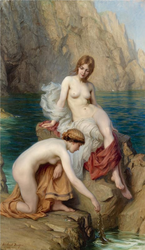 Herbert_james_draper_by_summer_seas