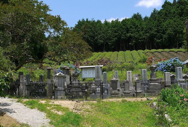 つちんど墓地