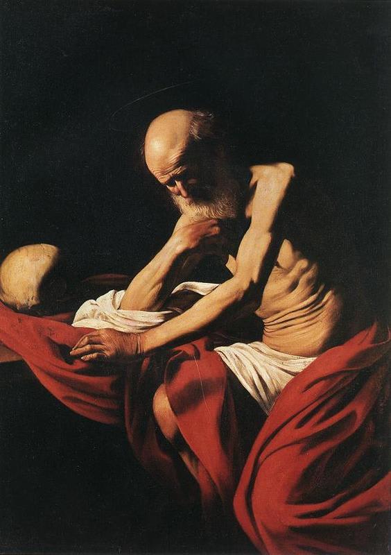 Caravaggio_jerome