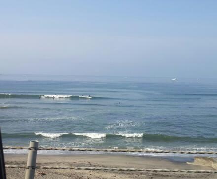 な、波があったー!