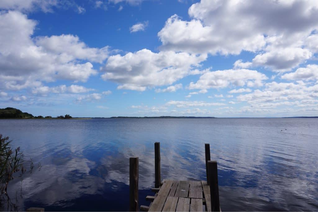 小川原湖から下北半島を北上 - ...